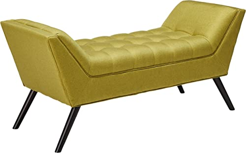 Christopher Knight Home Demi Fabric Bench, Green