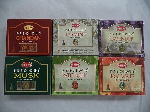 Hem Anti Stress Incense Cones 120 Total! Bulk Lot 12 Pack of 10 Cones