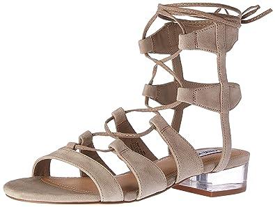 09f4887473538 Amazon.com   Steve Madden Women's Chely Gladiator Sandal   Flats