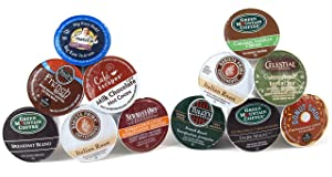 Keurig Entertainer Coffee Variety Pack and Keurig Dark Roast Variety Pack Keurig K-Cups, 96 Count