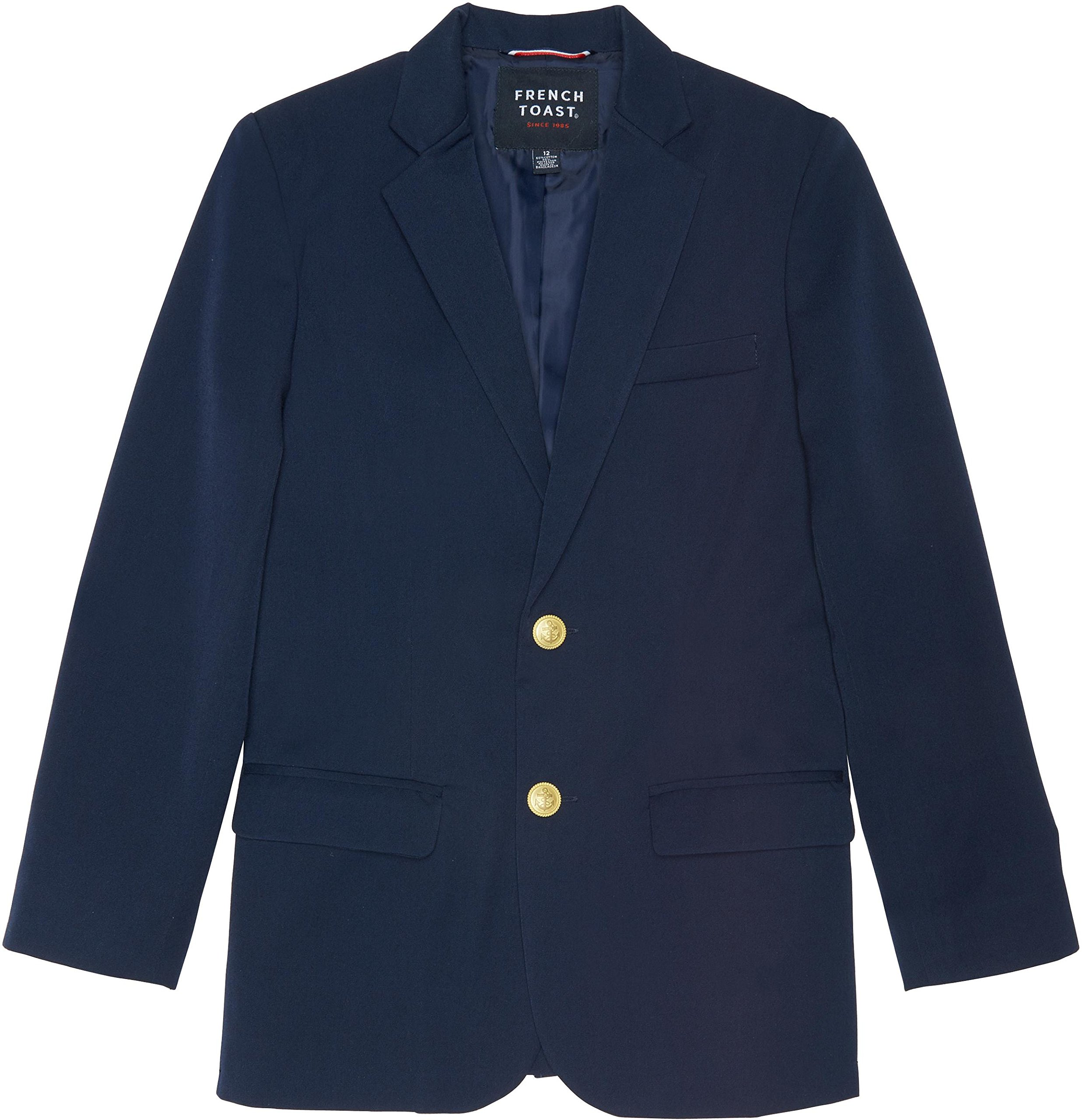 French Toast School Uniform Boys Classic School Blazer, Navy, 10 by French Toast (Image #1)