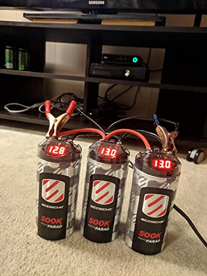 Zapojte kondenzátor 500S scosche 500k