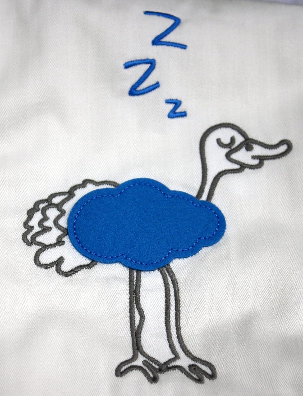 100x75 cm pajaro azul Zizzz manta