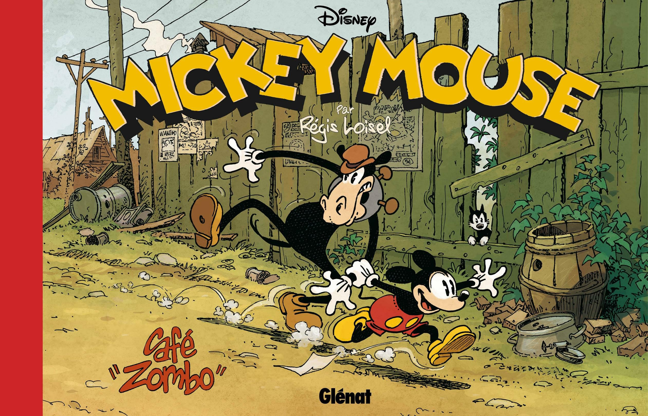 Disney Mickey Mouse Cafe Zombo (French Edition): Régis Loisel ...