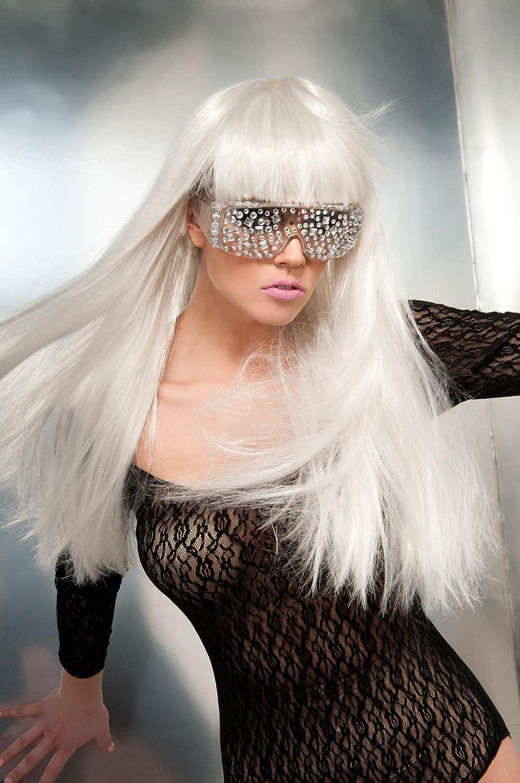 Lady Gaga I-30155 - Gafas con pedrería para disfraz: Amazon.es ...