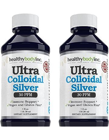 (2 Bottles) Pure Colloidal Silver 30 PPM Vegan and Gluten Free Colloidal Silver Nano