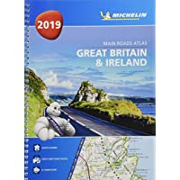 Great Britain & Ireland 2019 - Tourist & Motoring Atlas A4 Spiral 2019