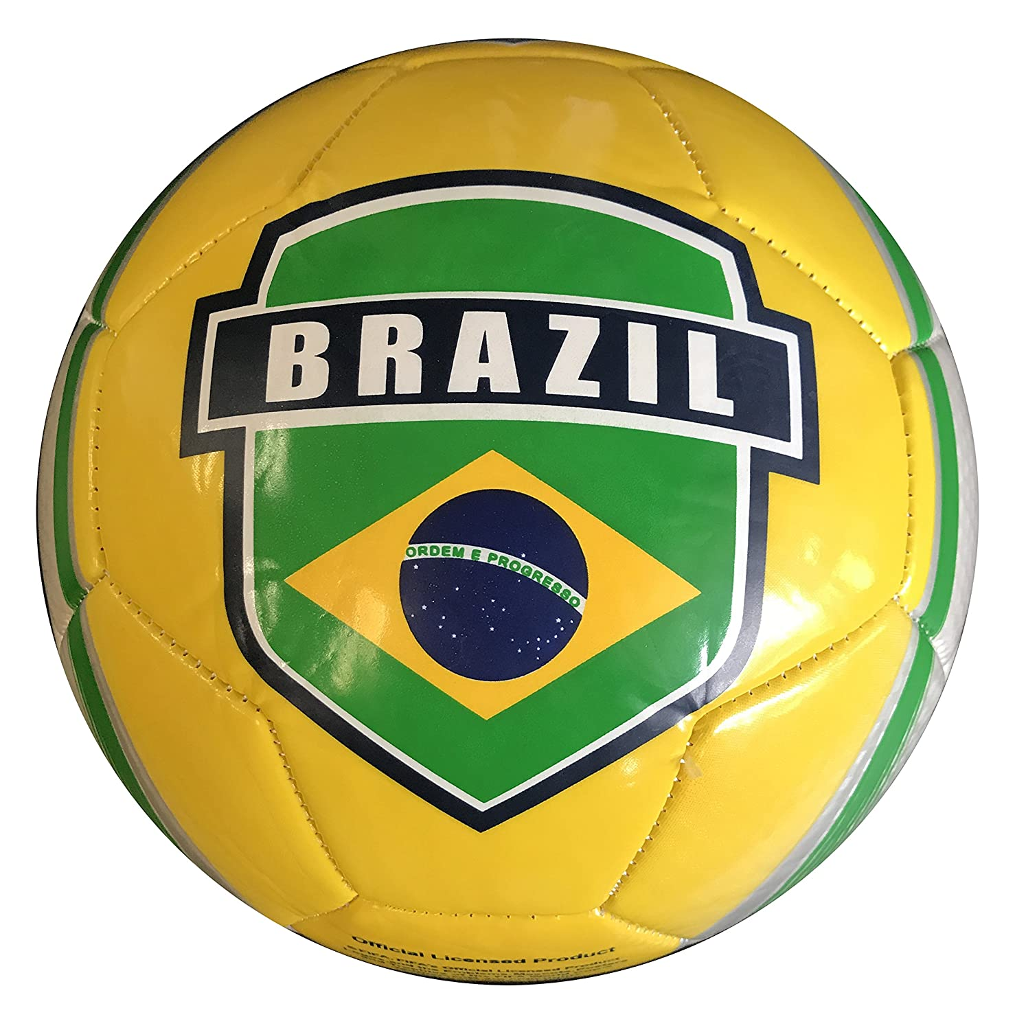772aafd94 Amazon.com : Icon Sports World Cup 2018 Brazil Soccer Ball : Sports &  Outdoors