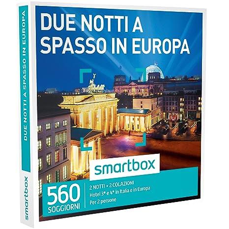 smartbox - Cofanetto Regalo - Due Notti A SPASSO in Europa - 560 ...