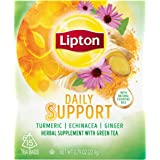 Lipton Herbal Supplement with Green Tea Daily Support 15 ct