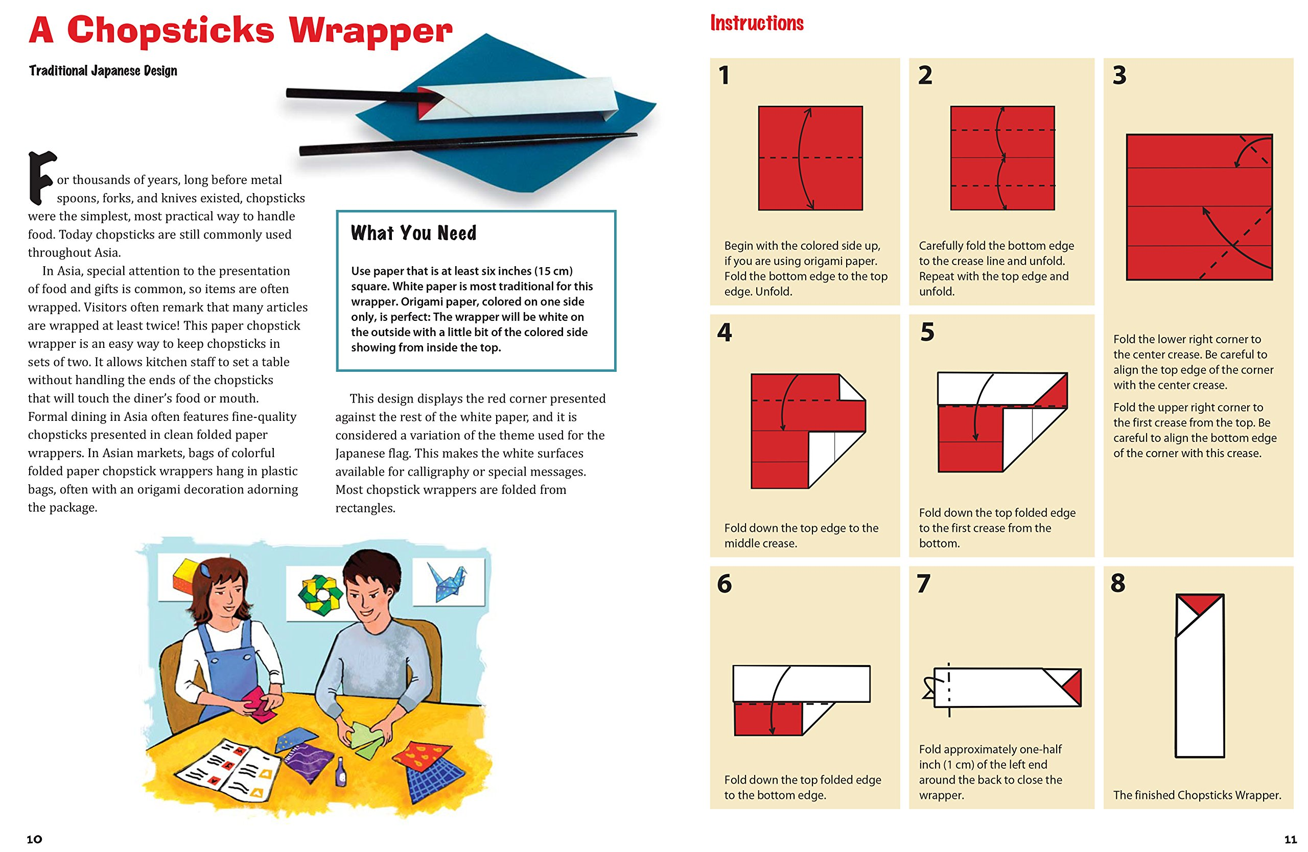 Origami Chopstick Wrapper: Swan Instructions in 11 Easy Steps ... | 1668x2560
