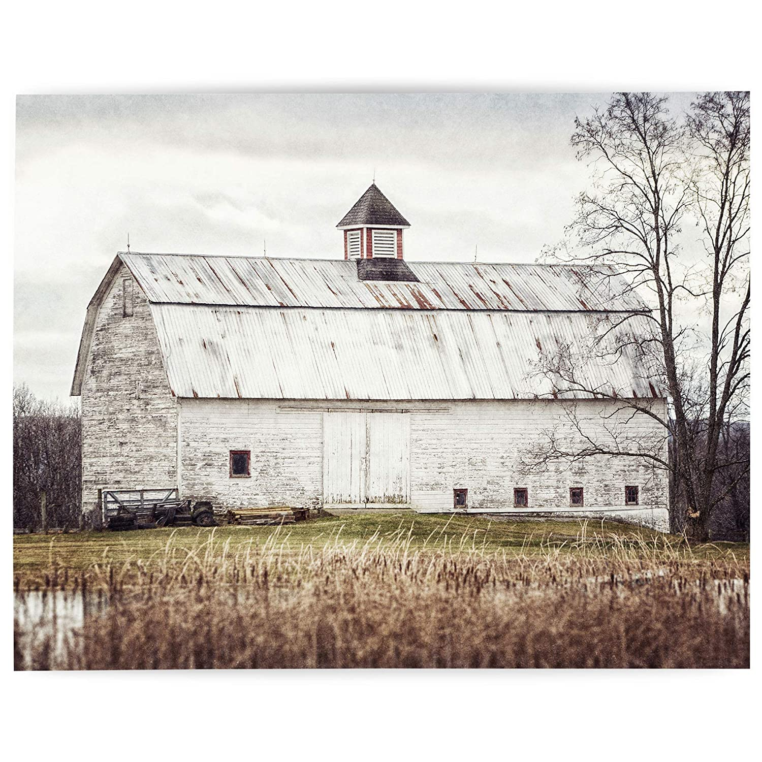 Amazon Com 8x10 Unframed Farmhouse Wall Art Home Decor Print Barn Landscape Country Home Decor Picture For Living Room Or Kitchen Gift For Women Fba810 Handmade