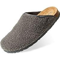 Dunlop Zapatillas Casa Hombre, Pantuflas Hombre De Forro Suave, Zapatillas Hombre con Suela Antideslizante Interior…