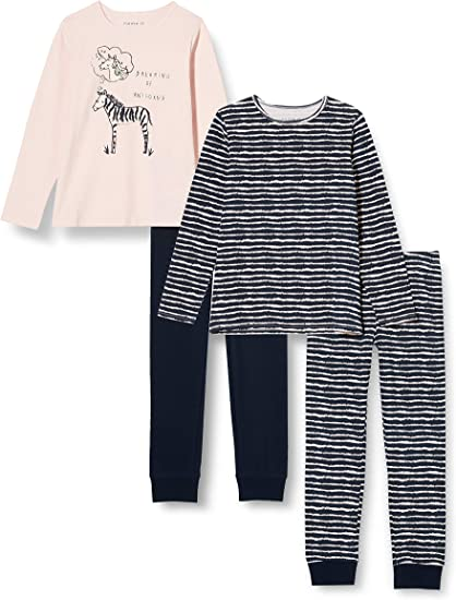 NAME IT Baby-M/ädchen Zweiteiliger Schlafanzug