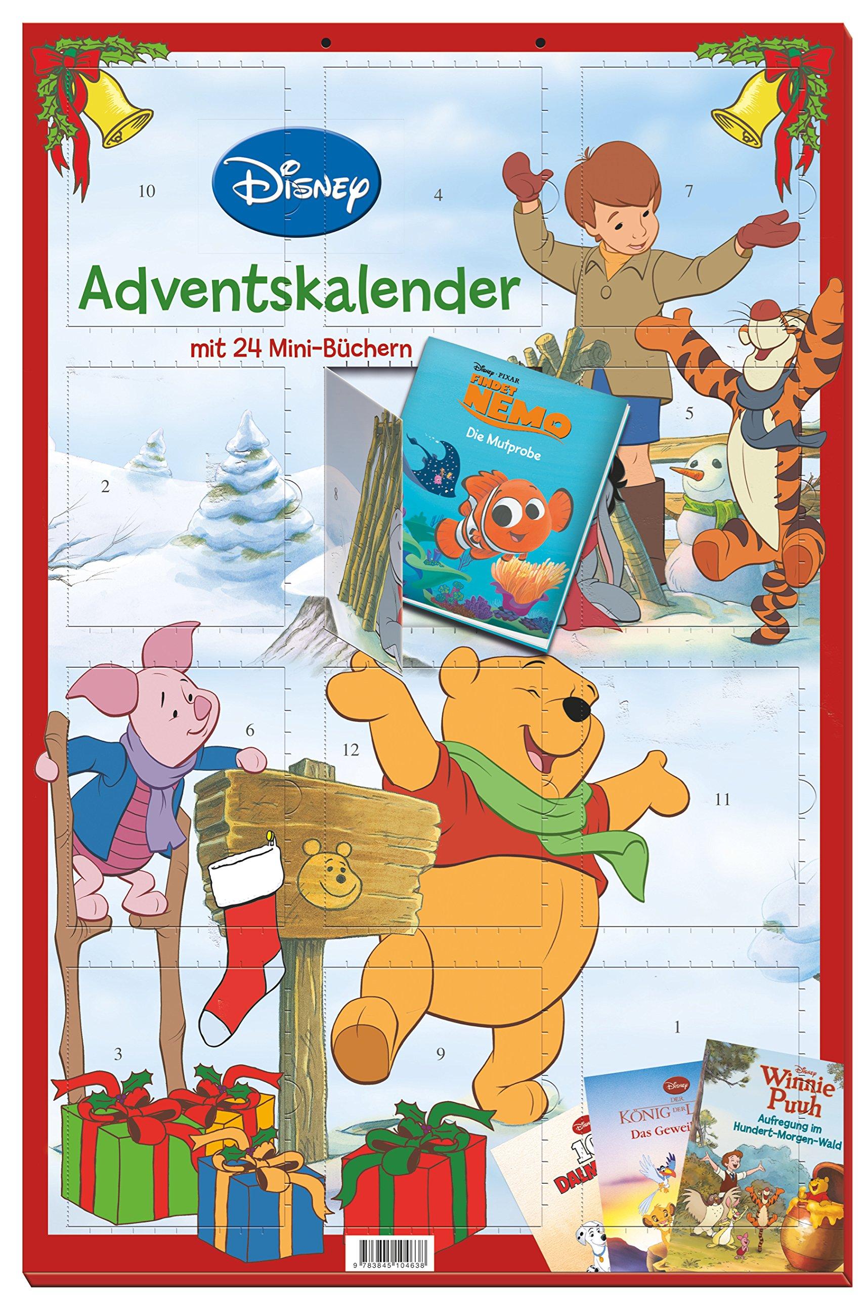Disney Minibuch Adventskalender 2016 24 Tolle Minibücher Zur
