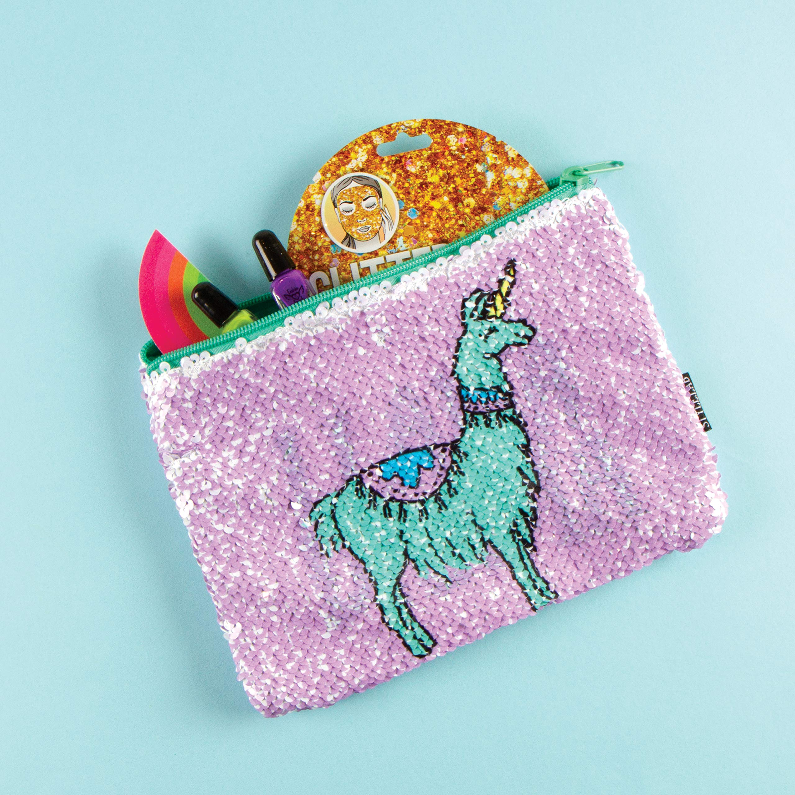 Style.Lab Magic Sequin Reveal Pouch-Llama/Drama by Style.Lab (Image #5)