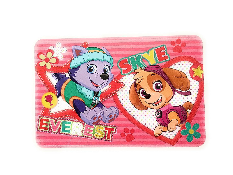 W&O Products Set de Table Enfants 28 x 43 cm, Personnages Disney, Marvel, Emoji (Everest & Sky Paw Patrol) W&O Products B.V