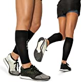 Calf Leg Compression Sleeves For Men and Women by Modetro Sports –Shin Splints, Circulation & Leg Cramp Compression Support Stocking Sleeve - Running, Jogging, Cycling, Fitness & Exercise Enhanced Performance -