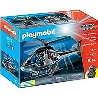 PLAYMOBIL Tactical Unit Copter Playset