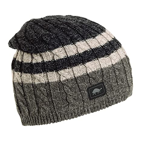 4912c157cb8 Amazon.com  Turtle Fur Slater Ragg Men s Fleece Lined Knit Beanie ...