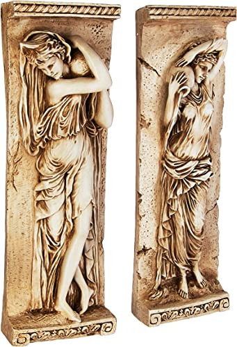 Design Toscano Water Maidens Wall Sculpture