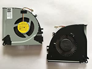 HK-part Replacement Fan for Dell Inspiron 15-7000 15-7557 15-7559 Inspiron 7557 7559 Series Gpu Cooling Fan DP/N 0RJX6N CN-0RJX6N 4-Pin 4-Wire