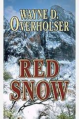 Red Snow (Thorndike Large Print Western Series) Hardcover