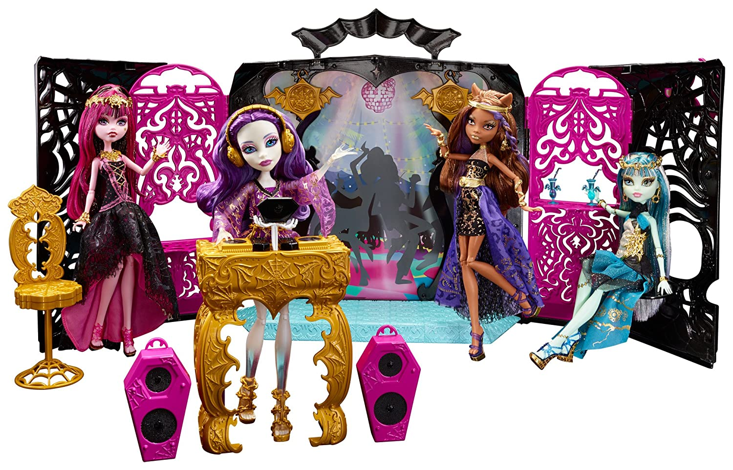 Amazon.es: Monster High - Fiesta monstruosa, pack de muñeca con ...