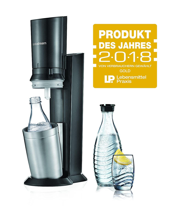 SodaStream CRYSTAL 2 0 Glaskaraffen Wassersprudler zum Sprudeln von