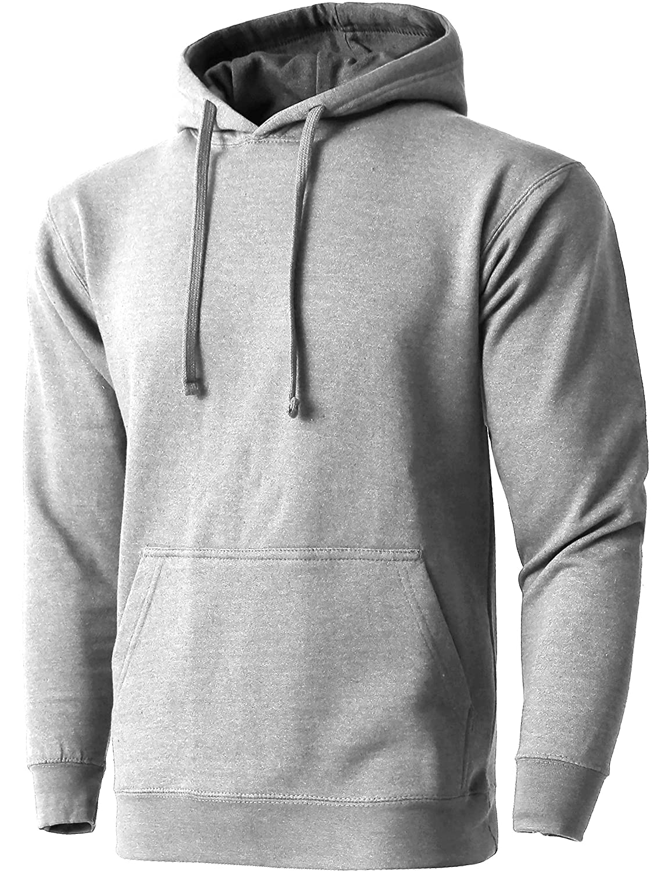 Hat and Beyond Mens Fleece Pullover Heavyweight Hoodie Sweatshirts Active  Jackets e9b72d47463
