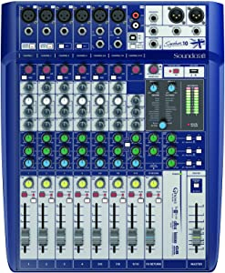 Soundcraft Signature 10 Analog 10-Channel Mixer with Onboard Lexicon Effects