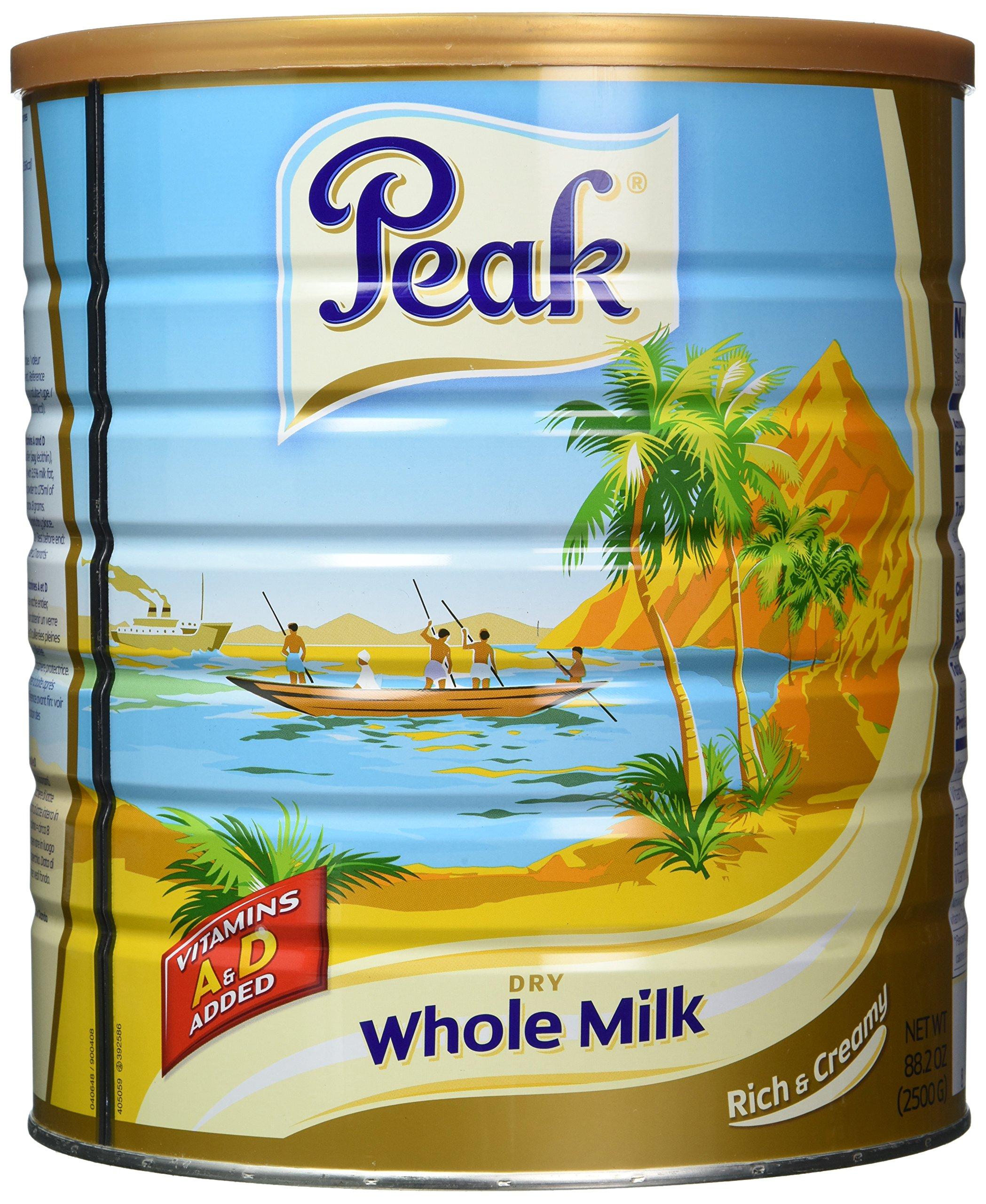 Peak Dry Whole Milk Powder, 2500 Gram