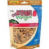 KONG Widgets Bones Peanut Butter Oatmeal, Small