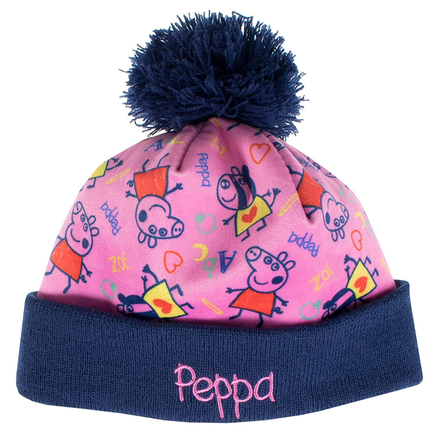 09e02ef5ca5 Peppa Pig Girls Peppa Pig Hat and Gloves Set
