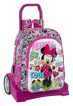 "Safta Mochila Espalda Ergonómica Minnie Mouse ""Cool"" ..."