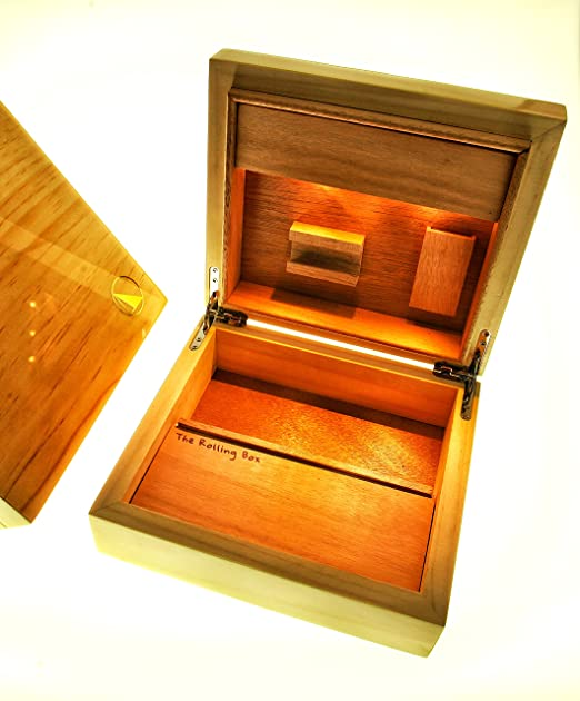 The Rolling Box Sylvestris 210; Caja almacenamiento, caja fumador ...
