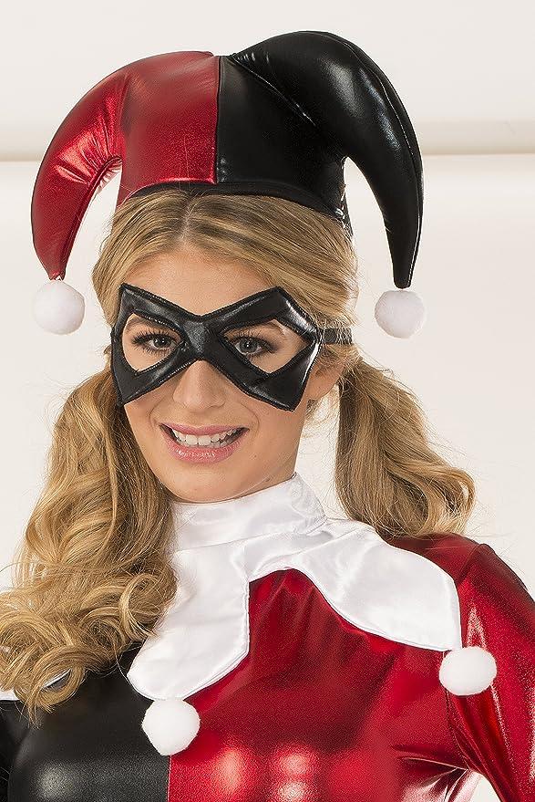 Amazon.com: DC Comics Harley Quinn Jumpsuit Costume Deluxe ...