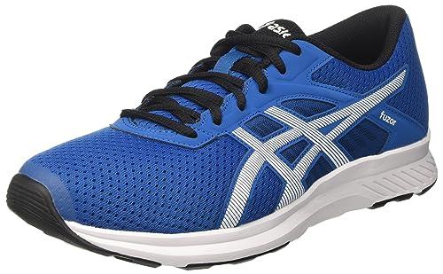 Da Uomo Blu ASICS PATRIOT 8 Running Jogging Scarpe Da Ginnastica Scarpe Sportive Taglia UK 7 8.5 12