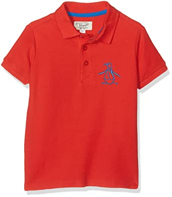 Original Penguin Jungen Poloshirt Core Polo Big Logo Amazon De