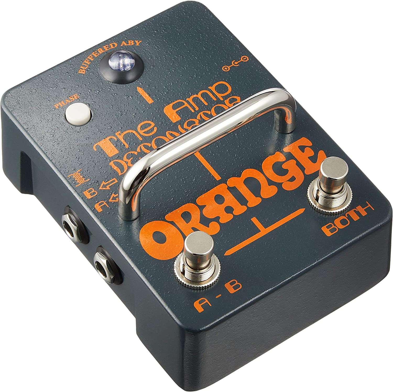 Orange Amp Detonator Buffered ABY Switcher Guitar Effects Pedal
