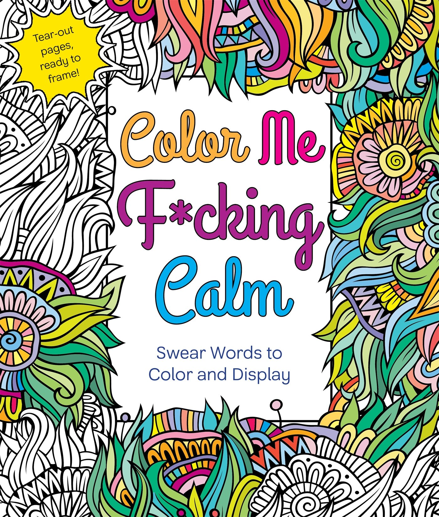 Amazon Color Me Fcking Calm Swear Words to Color and