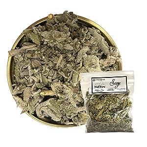 Sage Loose Dried Herb (Salvia Officinalis)