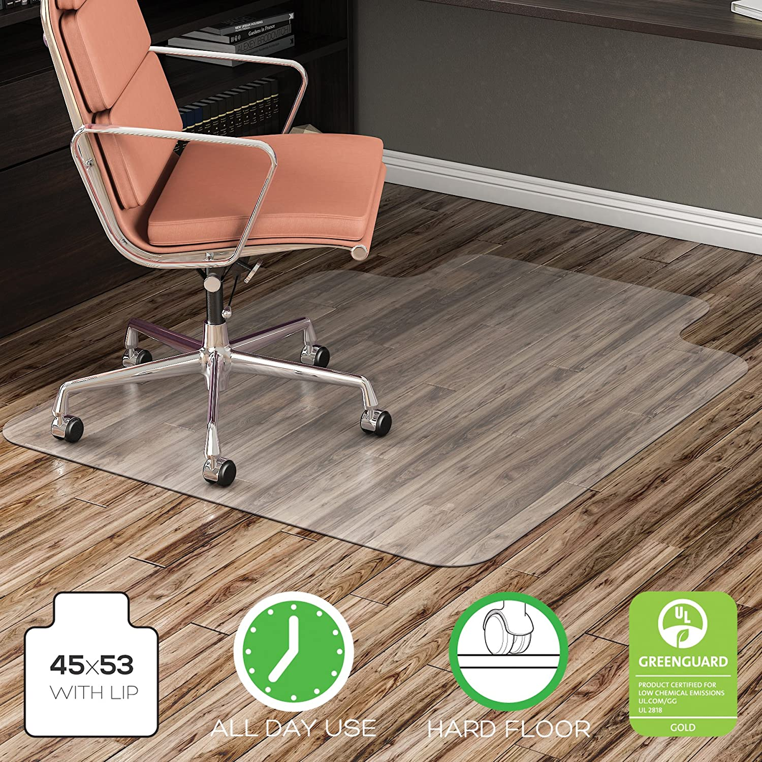 mats l carpet wood office chair mat for vidalondon