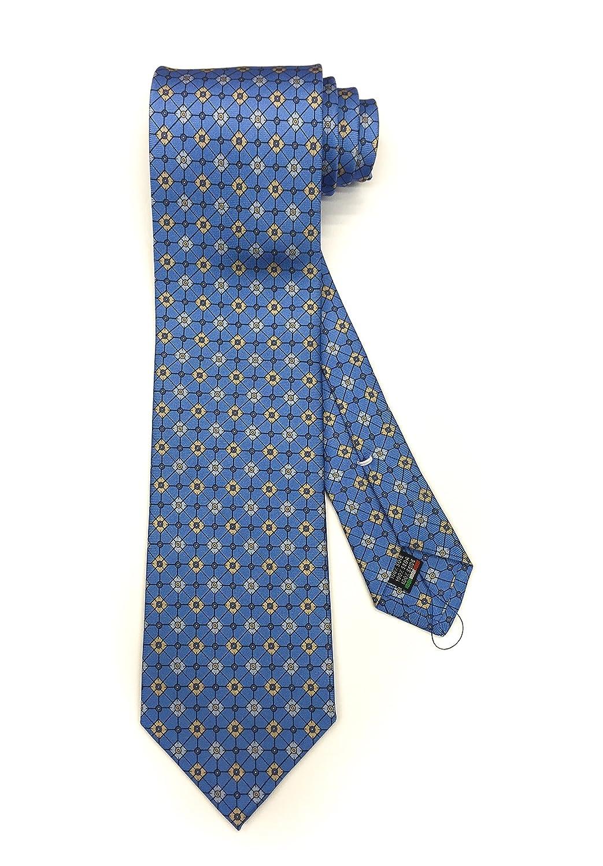 Real Luxury Napoli Handgemachte drei falten krawatte CRR00365
