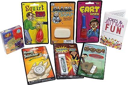 Regalos Bromas Pesadas 7 Piezas Medias Cosas Para Niños Jelly Belly Porotos De Gelatina Boozled Pito De Pedo Y Más Toys Games