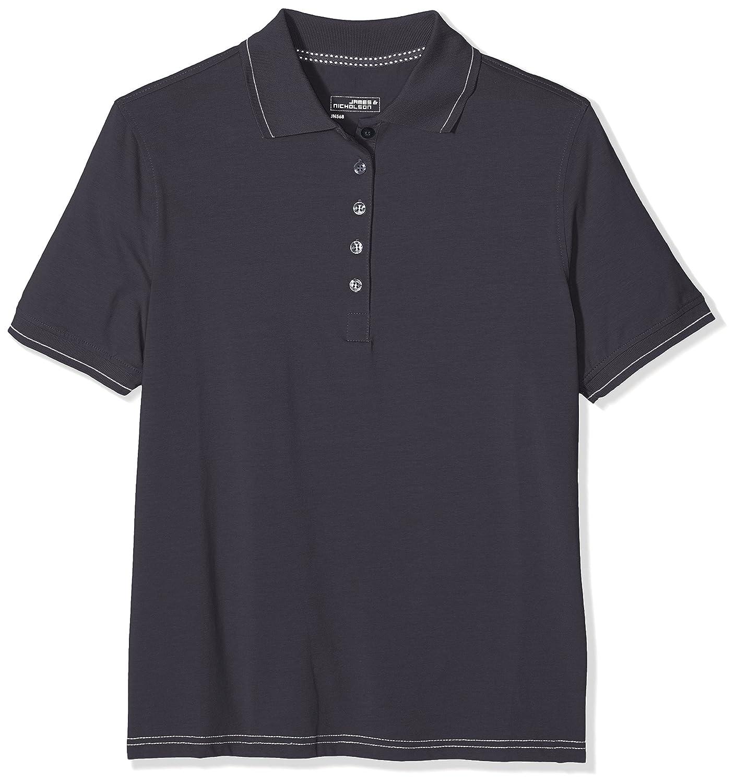 James & Nicholson Damen Poloshirt Ladies´ Elastic Polo JN568