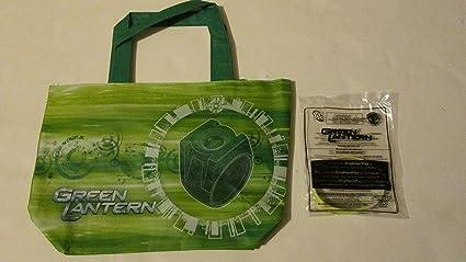 Amazoncom Subway Kids Meal Green Lantern Power Ring Design Tote
