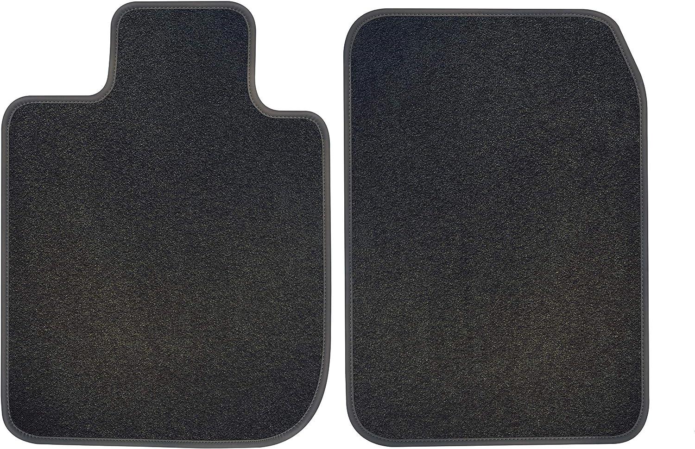 B/&B AUTOSPORT E61224-F1A-PR-CC Floor Mats 2 pc Set Prestige Charcoal