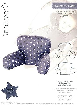 Schnittmuster Baby-Sitz-Kissen für den Kinderwagen, Babydecke ...