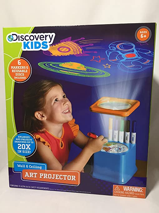 amazon com discovery kids wall ceiling art projector toys games